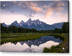 Acrylic Print featuring the photograph Schwabacher Landing In 60 Seconds by Dan Mihai