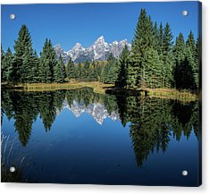 Schwabacher Landing Acrylic Print by Mary Hone