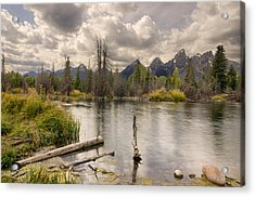 Acrylic Print featuring the photograph Schwabachers Landing by John Gilbert