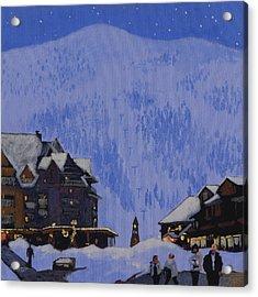 Schweitzer Nights Acrylic Print by Robert Bissett