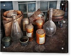 Science - Chemist - Ready To Experiment Acrylic Print by Mike Savad