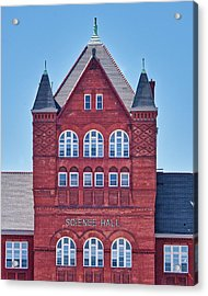 Science Hall - Uw Madison - Wisconsin Acrylic Print by Steven Ralser