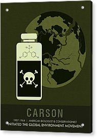 Science Posters - Rachel Carson - Biologist, Conservationist Acrylic Print