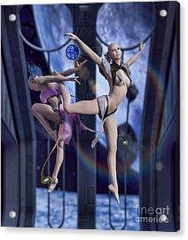 Scifi Ballet Acrylic Print