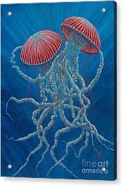 Scifi Jellies Acrylic Print