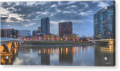 Acrylic Print featuring the photograph Scioto Morning 3567 by Brian Gryphon