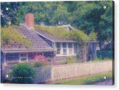 Sconset Cottage #3 Acrylic Print