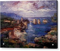 Scopello In Sicily Iv Acrylic Print