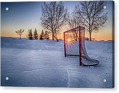 Acrylic Print featuring the photograph Scoring The Sunset 3 by Darcy Michaelchuk