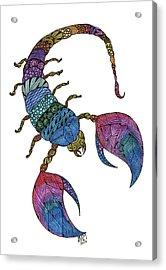 Scorpio Acrylic Print