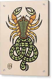 Scorpio Acrylic Print by Ian Herriott