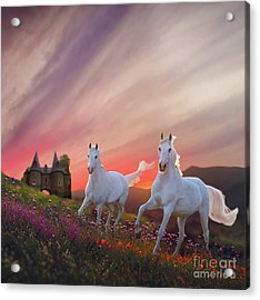 Scotland Fantasy Acrylic Print