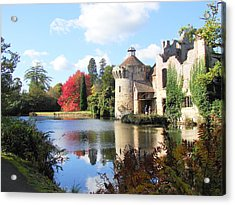 Scotney Castle Acrylic Print by Nicola Butt