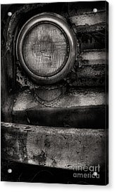 Scotopic Vision 7 - Headlight Acrylic Print by Pete Hellmann