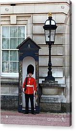 Scots Guard Buckingham Palace Acrylic Print