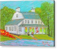 Scott Manor House  Acrylic Print