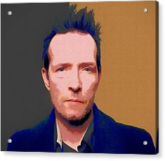 Scott Weiland Pop Art Acrylic Print