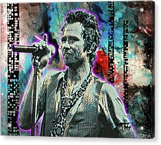 Scott Weiland - Silvergun Superman Acrylic Print
