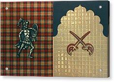 Scottish Arabian Acrylic Print by Paul Knotter
