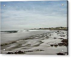 Scottish Coast Acrylic Print by Sam Smith