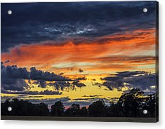Acrylic Print featuring the photograph Scottish Sunset by Jeremy Lavender Photography