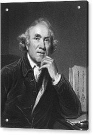 Scottish Surgeon John Hunter Acrylic Print