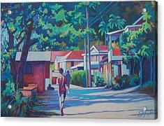 Scottshead Village Acrylic Print