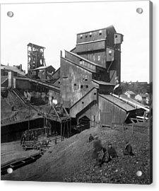 Scranton Pennsylvania Coal Mining - C 1905 Acrylic Print
