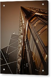 Scraping The Sky Acrylic Print by Loriental Photography