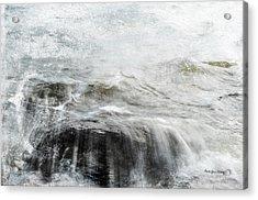Scratching The Surface Acrylic Print by Randi Grace Nilsberg