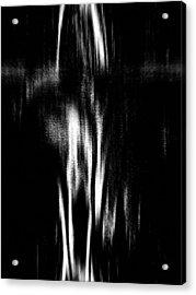 Scream Acrylic Print by Charleen Treasures