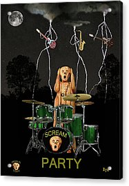 Scream Soul Tour Acrylic Print