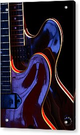 Screaming Guitars Acrylic Print by Art Ferrier