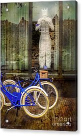 Screaming King Bike Acrylic Print