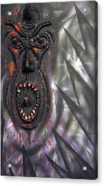 Screaming Acrylic Print by Leigh Odom