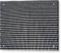 Screen I Acrylic Print by Anna Villarreal Garbis