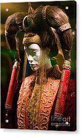 Screen Worn Queen Amidala Acrylic Print
