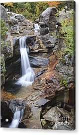 Screw Auger Falls - Maine  Acrylic Print