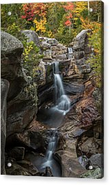 Screw Auger Falls In Autumn Acrylic Print