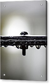 Screw This Rain Acrylic Print by Lisa Knechtel