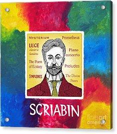 Scriabin Acrylic Print by Paul Helm