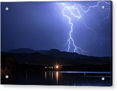 Acrylic Print featuring the photograph Scribble In The Night by James BO Insogna