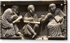 Scribes, 10th Century Acrylic Print by Science Source