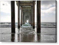 Scripps Pier Acrylic Print
