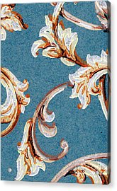 Scrolled Whimsy Acrylic Print