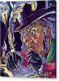 Scrooge And Marley's Ghost Acrylic Print by Tim  Heimdal