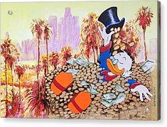 Scrooge In La Acrylic Print