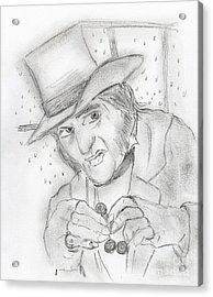 Scrooge Acrylic Print