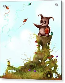Scrumpy And The Phizz Poppers  Acrylic Print