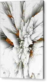 Acrylic Print featuring the digital art Sculptural Series Digital Painting 05.072311 by Kris Haas